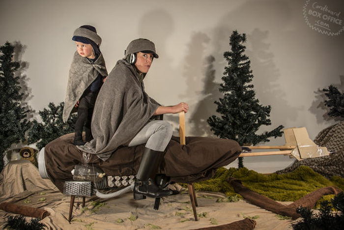 Creative Parents Recreate Famous Movie Scenes With Their Baby Boy