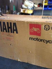 A 1985 Yamaha RZ500N Was Found Still In Mint Condition
