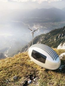 This New Ecocapsule Will Get You Living Off The Grid