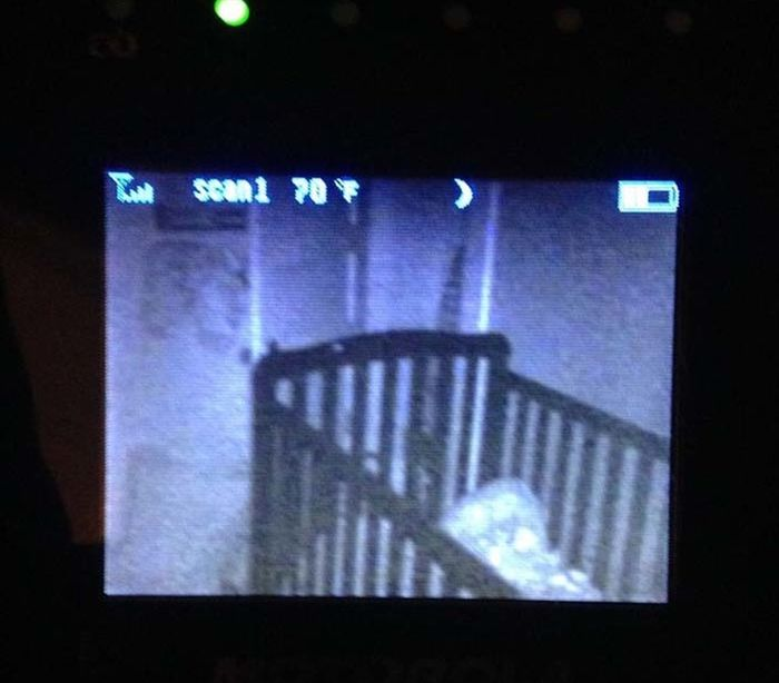 Sometimes Baby Monitors Capture The Creepiest Moments