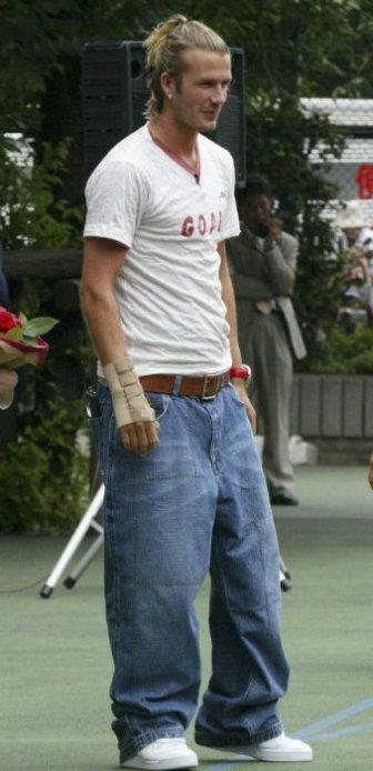 Outfits Only David Beckham Could Get Away With