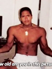 Dwayne Johnson When He Was 15