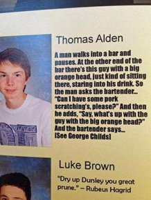 These Kids Teamed Up To Pull An Elaborate Yearbook Prank