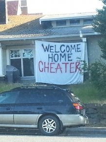 Cheaters That Totally Got What Was Coming To Them