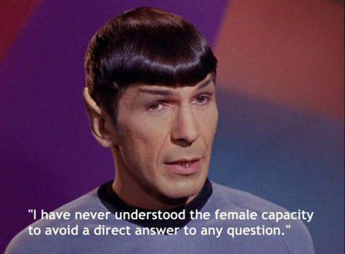 If You're Trying To Understand Women's Logic, You're Wasting Your Time