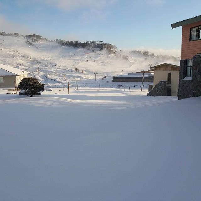 Snow Is Falling In Australia