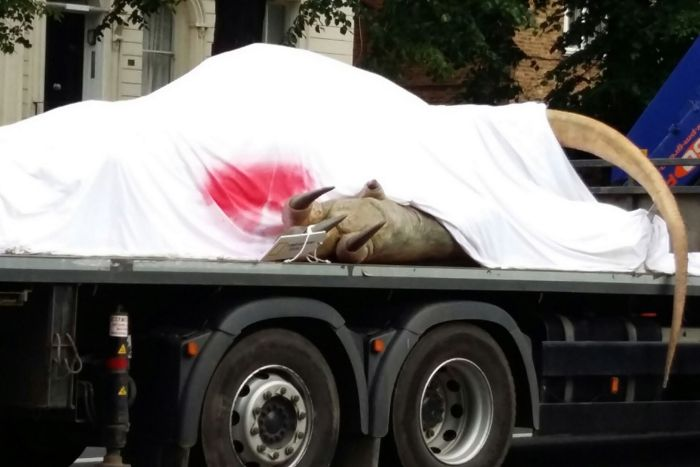 Why Is There A T-Rex On The Back Of A Truck In London?