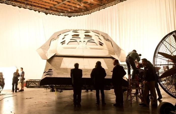 Behind The Scenes Photos From The Set Of Interstellar
