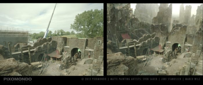 How Matte Paintings Bring Game Of Thrones To Life