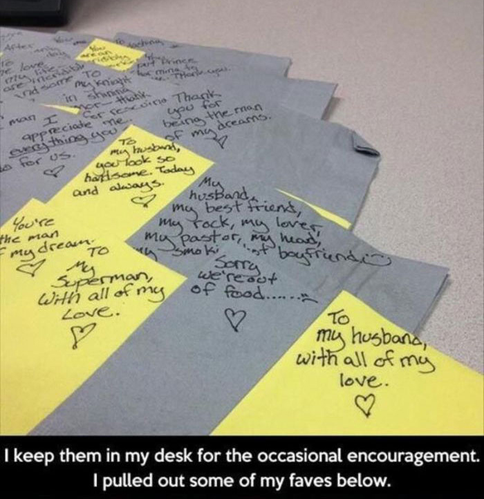 This Man Gets The Sweetest Lunch Box Notes From His Wife