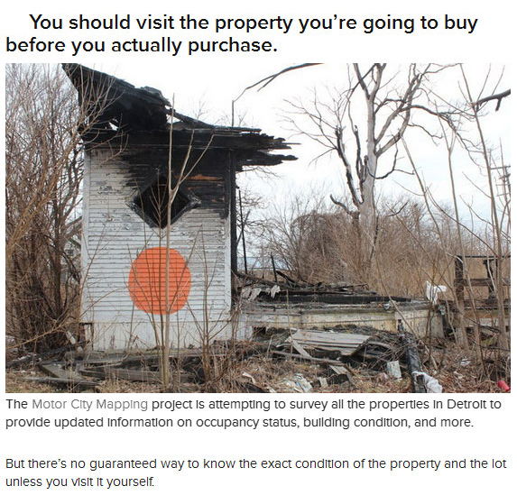 In Detroit You Can Buy A House For $500, part 500