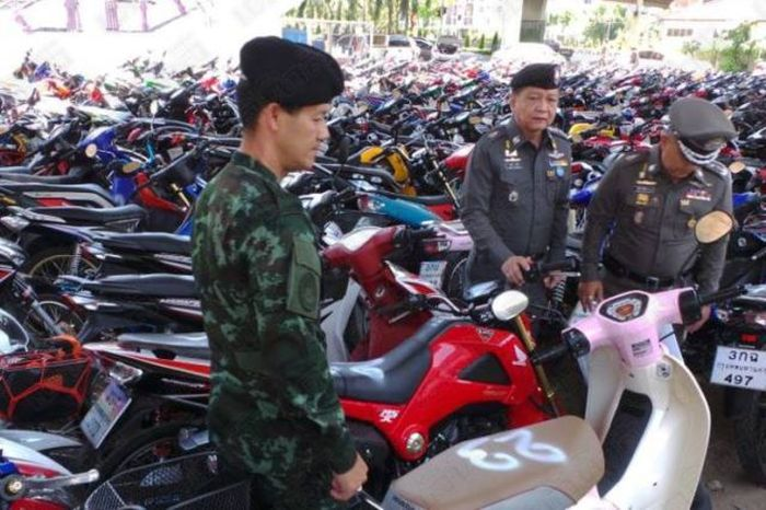 425 Bikers Got Busted For Street Racing In Thailand