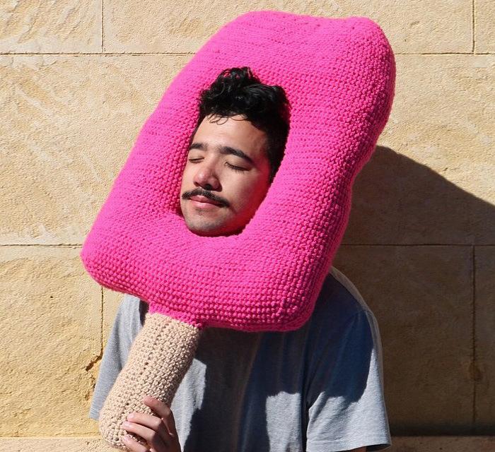 Phil Ferguson Crochets Delicious Looking Food Hats