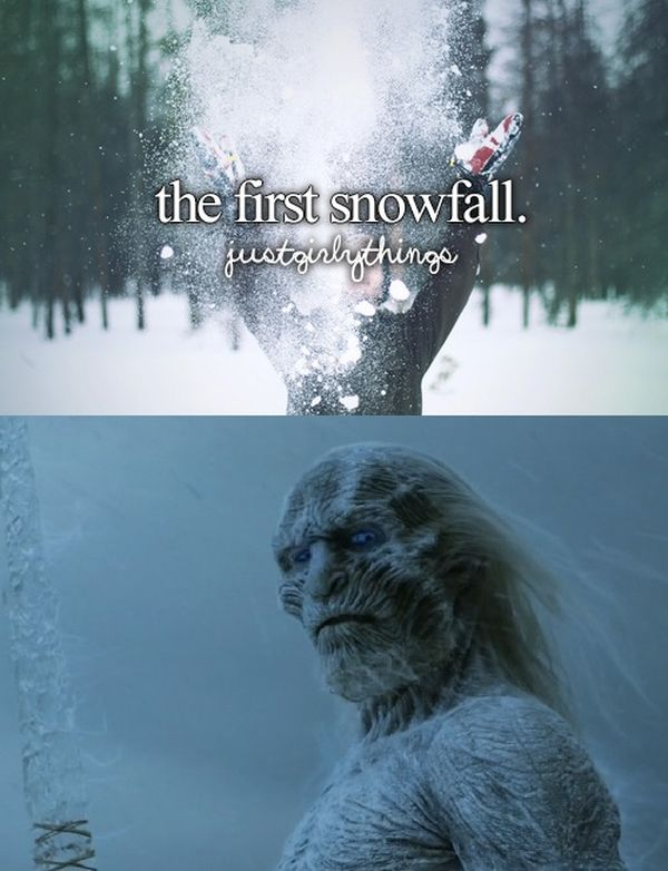 """Game Of Thrones Gets The """"Just Girly Things"""" Treatment"""