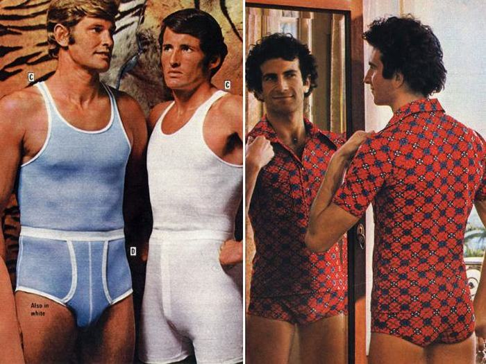 These Old Men's Fashion Ads Prove That The 70s Were A Weird Time