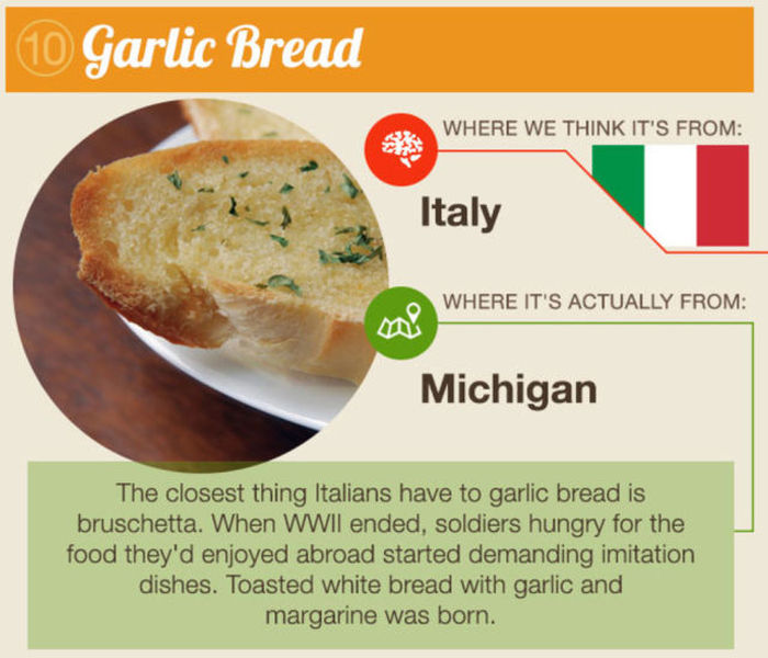 You Would Never Guess The Origin Of These American Foods