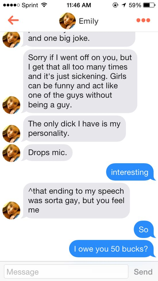Guy Calls Tinder Girl Out For Being Fake Then Gets Her Number