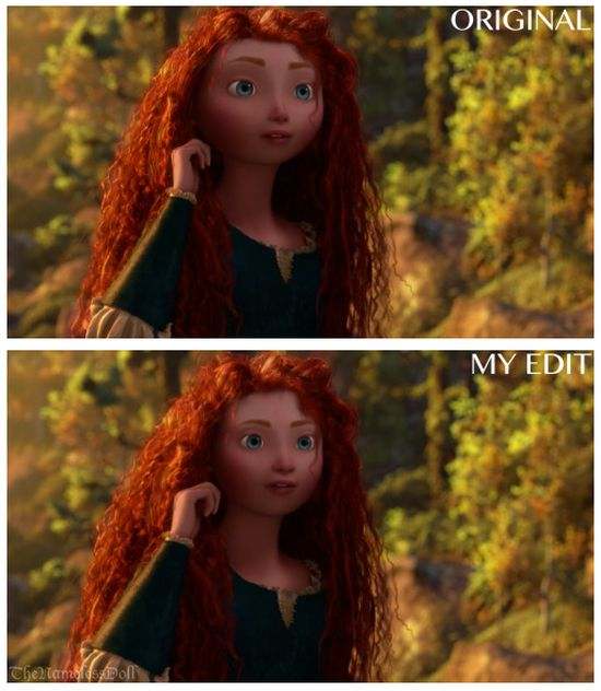 Tumblr User Gives Pixar Characters Normal Faces