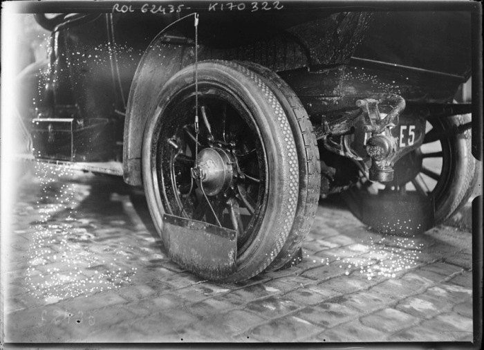 Mud Flaps Looked Very Different In 1912, part 1912