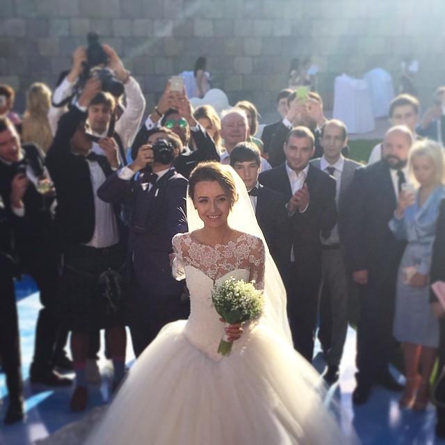 The #FollowMeTo Couple Take A Walk Down The Aisle At Their Own Wedding