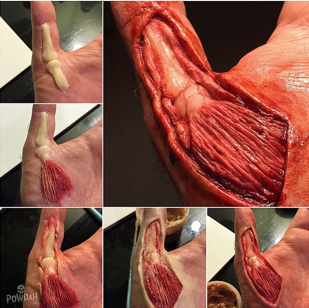 Marc Clancy Creates Amazing Special Effects With Makeup