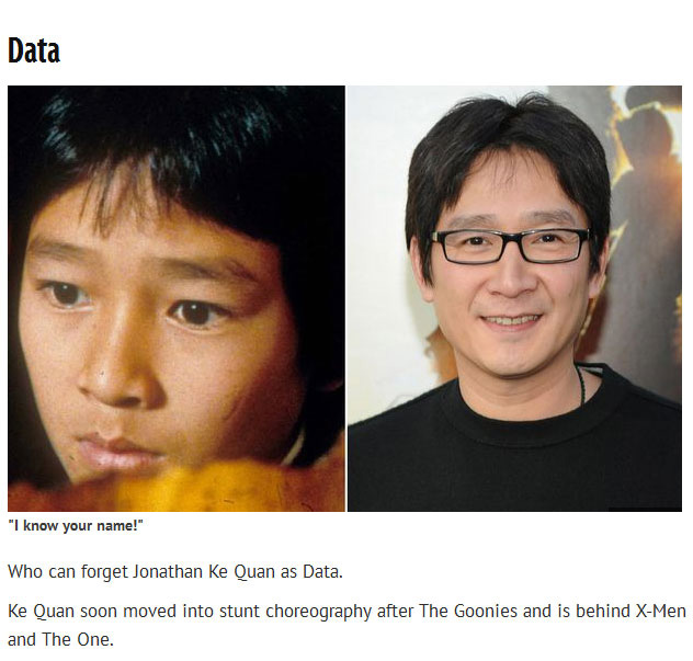 Find Out What The Cast Of The Goonies Is Up To Now