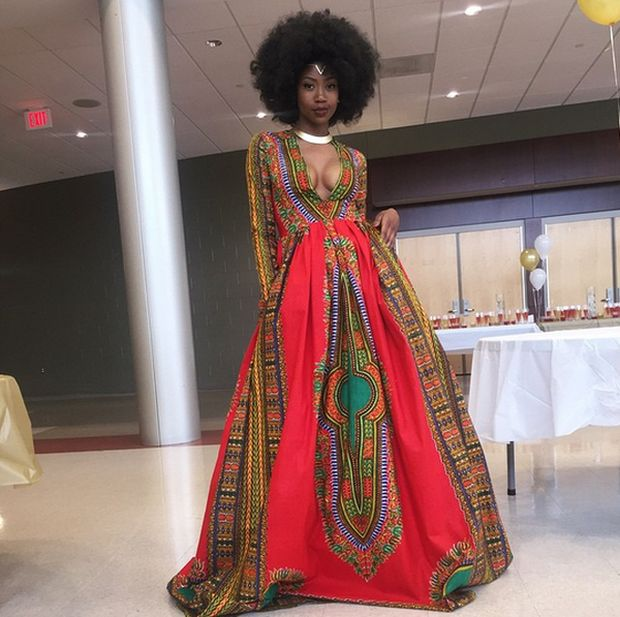 This Prom Queen Went Viral With Her Homemade Prom Dress