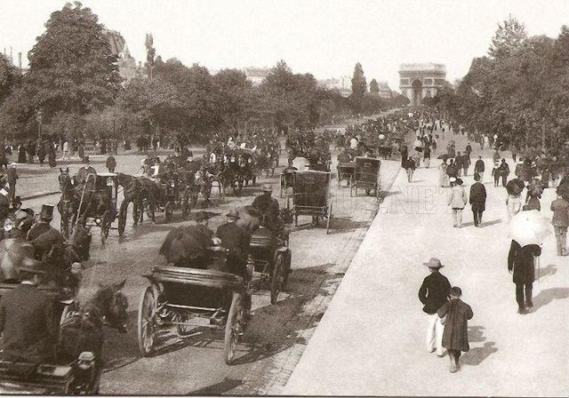 Picture of old Paris