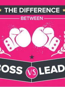 How To Tell The Difference Between A Boss And A Leader