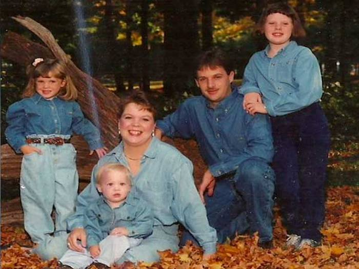These Family Photos Are A Denim Overload