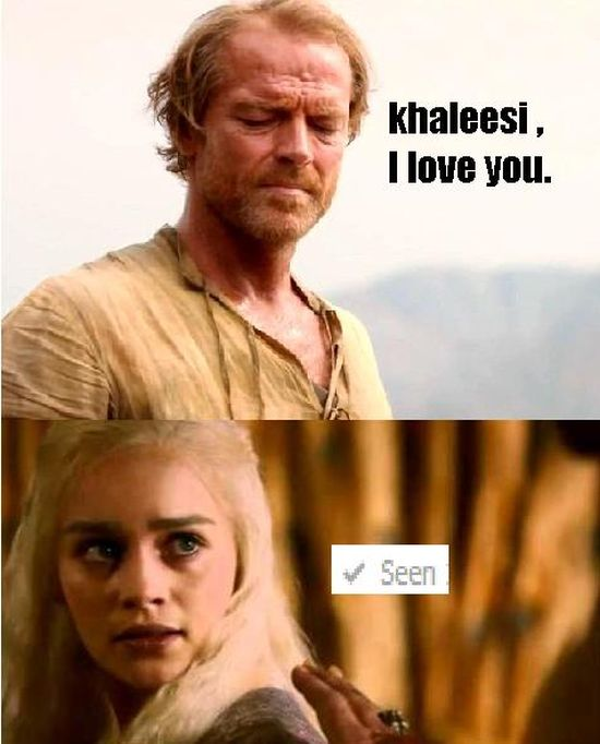 Jorah From Game Of Thrones Presents Moments From The Friendzone