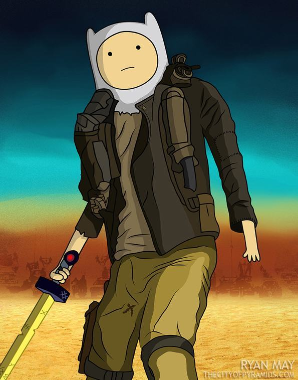 Mad Max And Adventure Time Come Together In This Awesome Mashup