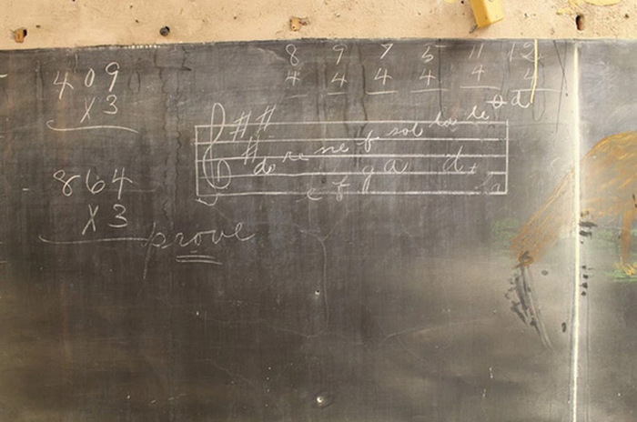 This Oklahoma City High School Discovered 100 Year Old Chalkboard Drawings