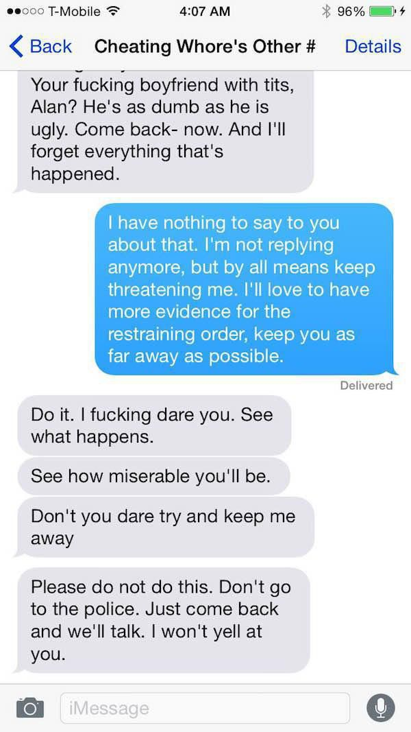 This Guy's Ex Fiance Is A Total Psycho
