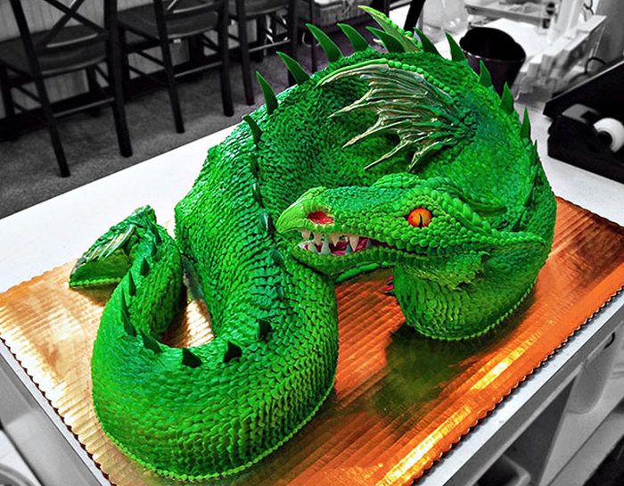 These One Of A Kind Cakes Are Just Too Cool To Eat