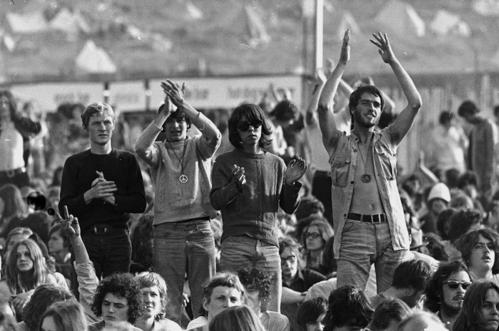 A Look Back At The Isle Of Wight Festival In The '60s And '70s