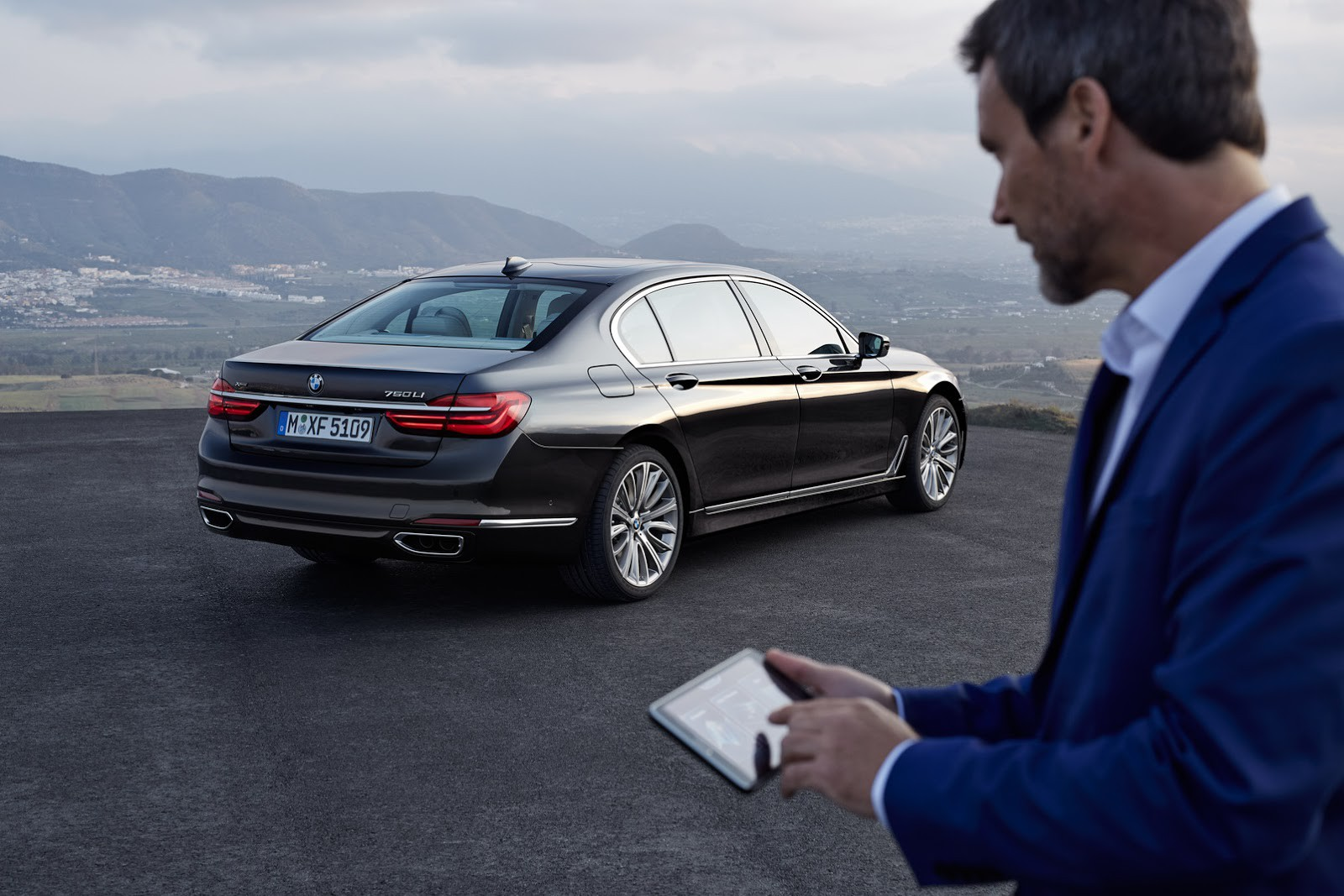 The new BMW 7 series