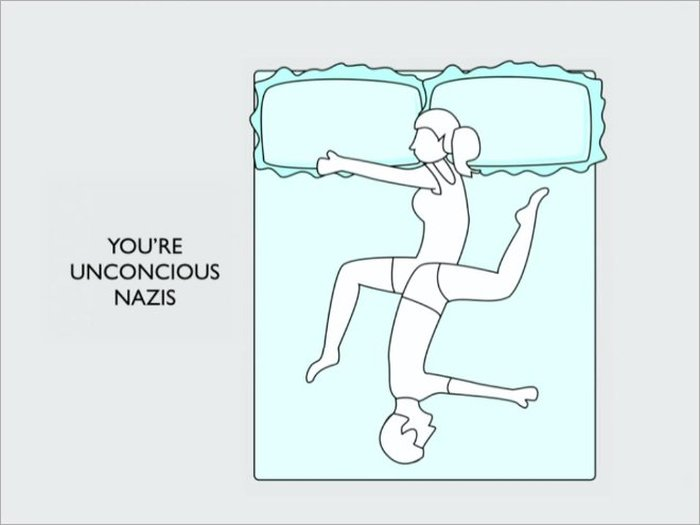 How Your Sleeping Position Reveals The Truth About Your Relationship