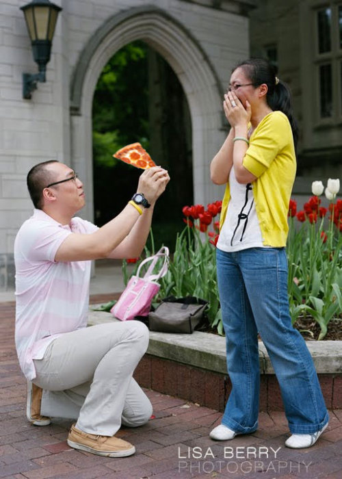 Pizza Proposals Are The Most Romantic Thing Ever