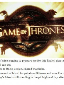 79 Thoughts We All Had During The Game Of Thrones Season 5 Finale