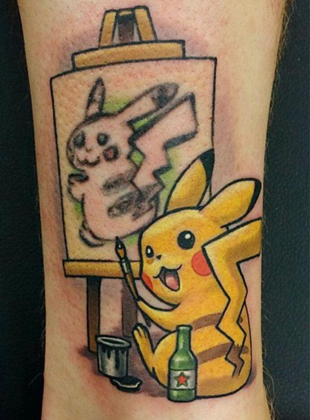 How To Turn Pikachu Into Pikasso