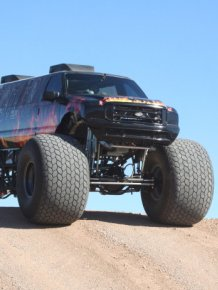 What It Looks Like When A Monster Truck Becomes A Limousine