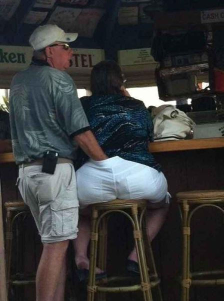 People Have Fun In Public Places