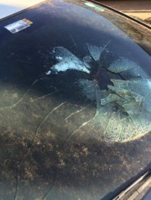 What It Looks Like When Lightning Hits A Car
