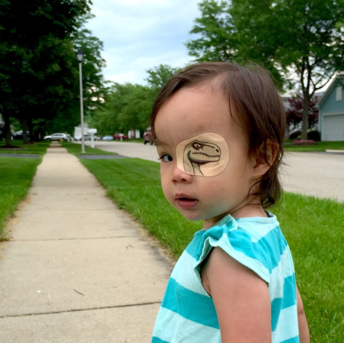 Their Daughter Had To Wear An Eye Patch So They Had A Little Fun With It