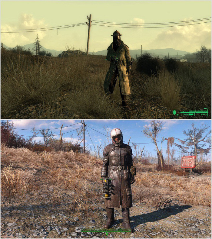 Comparing The Graphics Of Fallout 4 To Fallout 3, part 3
