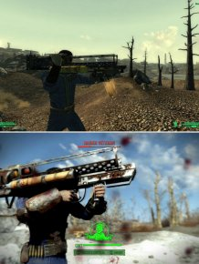 Comparing The Graphics Of Fallout 4 To Fallout 3