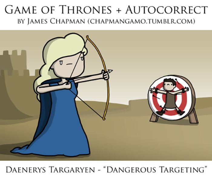 When Game Of Thrones Goes To War With Autocorrect