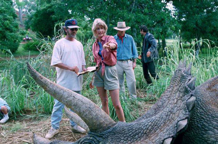 Behind The Scenes Photos From The Making Of The First Jurassic Park Film