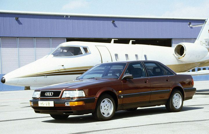 The history of Audi's flagship